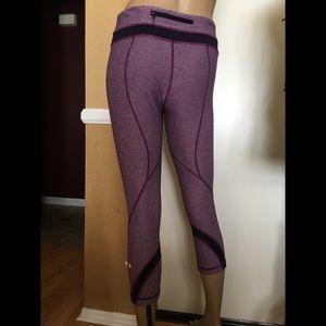 Lululemon athletic Capri leggings